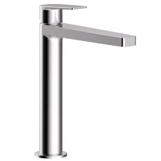 Grifo monomando mediano maneta de lavabo PROJECT-TRES