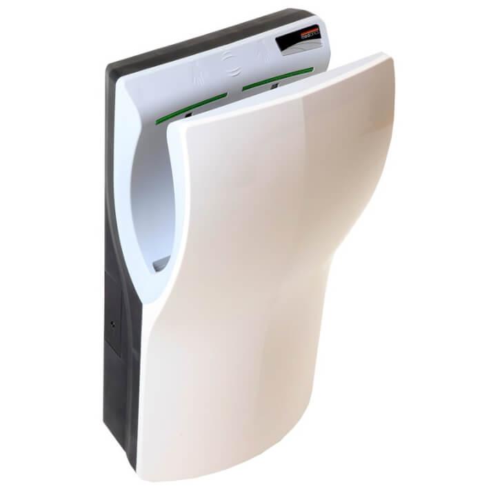 Secador de mãos branco Dualflow Plus - MEDICLINICS