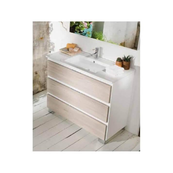 Mueble Life 3 cajones sin lavabo B10