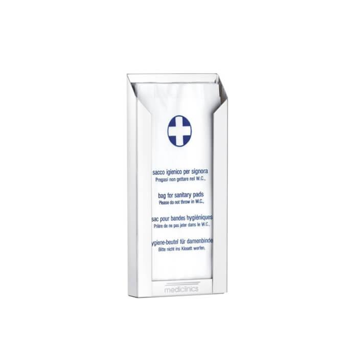 Dispensador bolsas higiénicas blanco Mediclinics