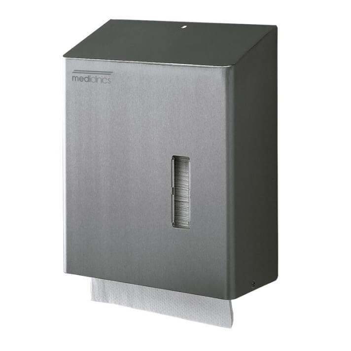 Dispensador 600/750 toallas gris Mediclinics