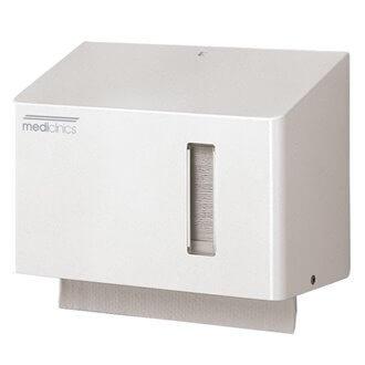 Dispensador 250/300 toallas blanco Mediclinics