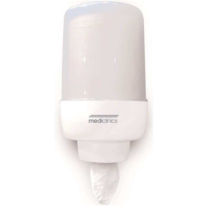 Dispensador toalla bobina blanco Mediclinics