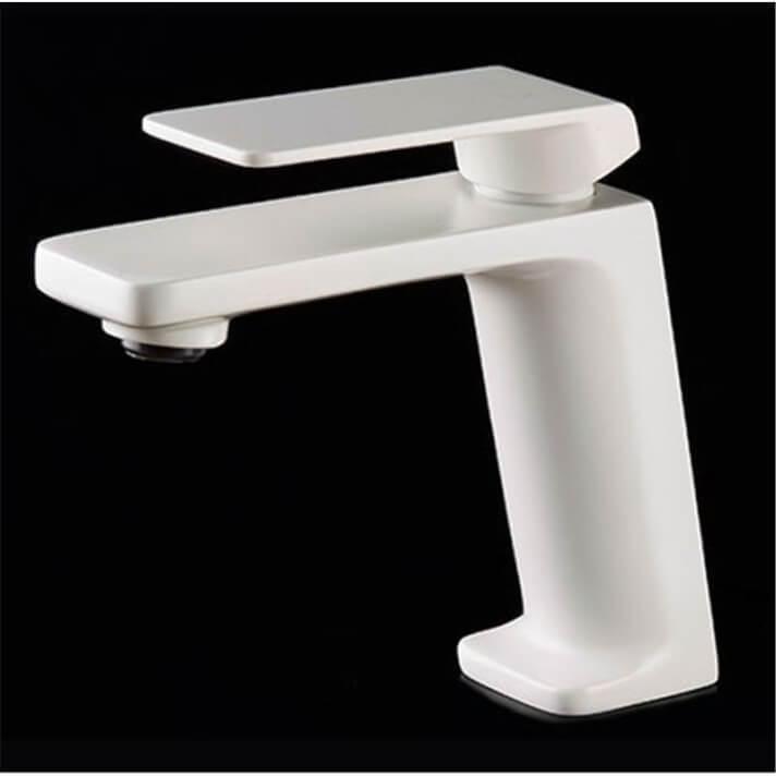 Grifo lavabo Imex Fiyi Blanco