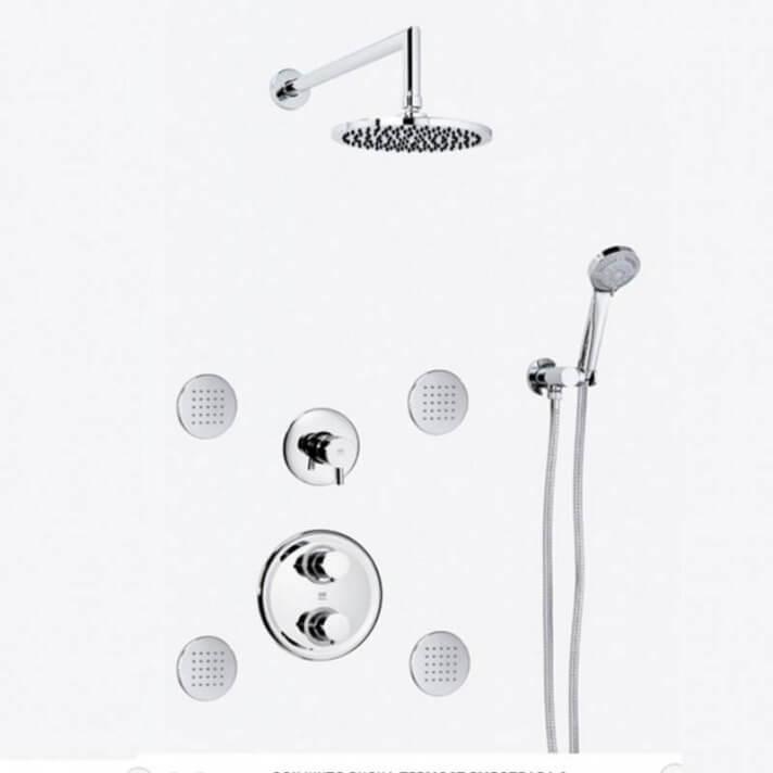 Set doccia termostatica da incasso DELTA