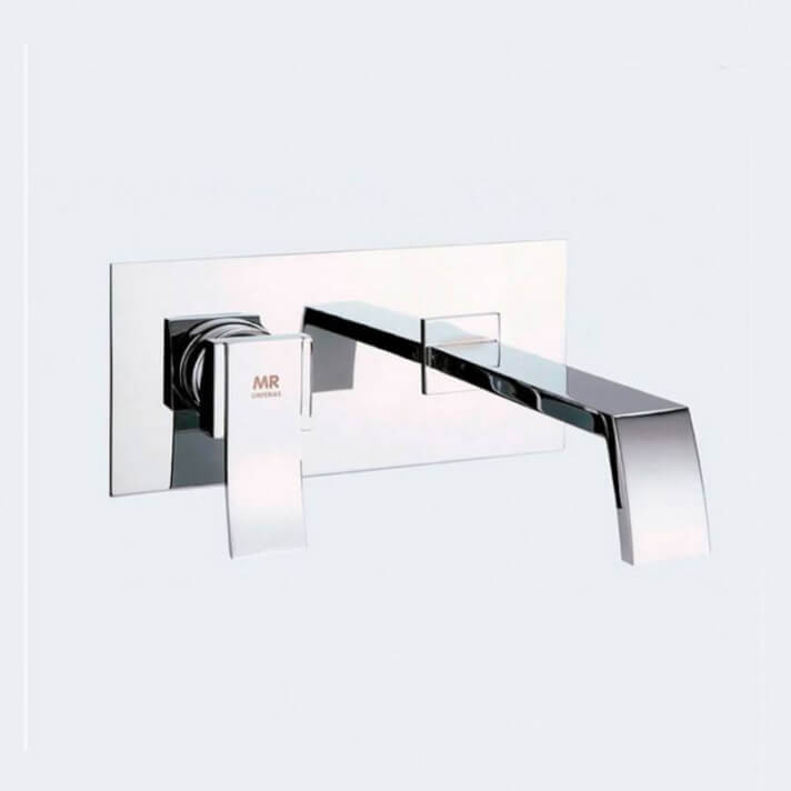 Grifo monomando para lavabo mural Inca