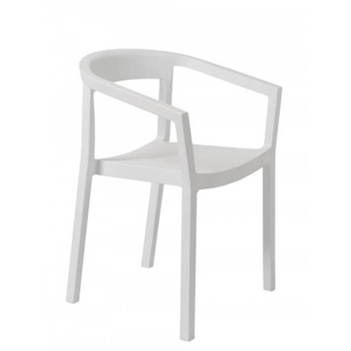 Set di 2 sedie con braccioli bianche Peach Resol