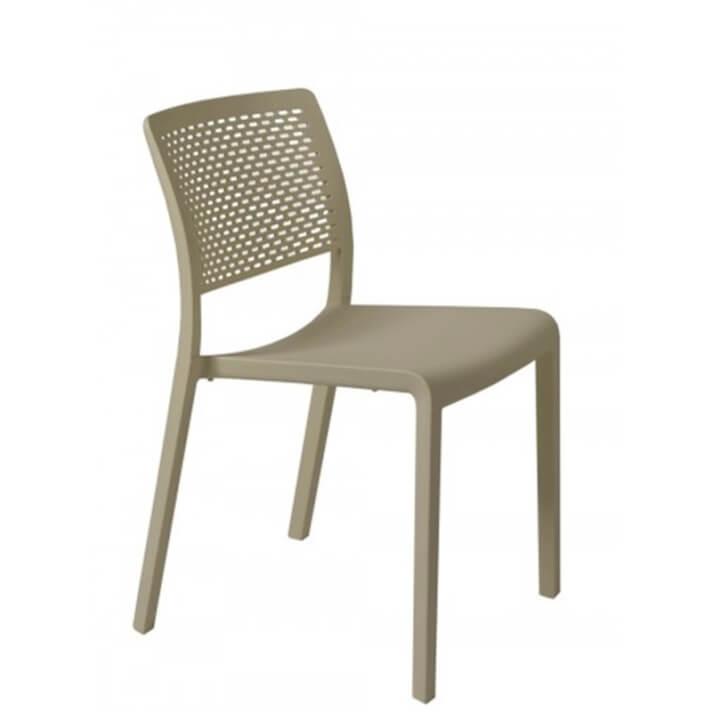 Lot de 2 chaises sable Trama Resol