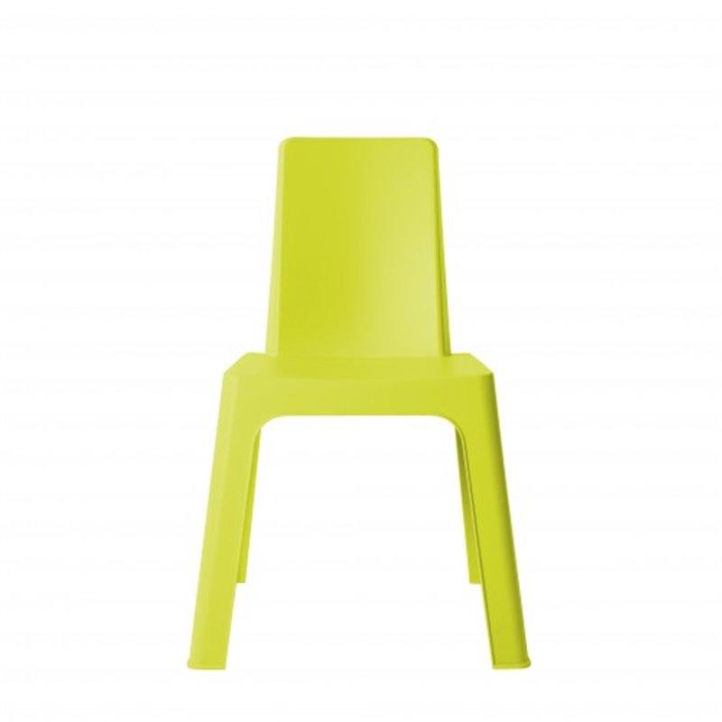 Lot de 4 chaises enfant vert citron Juliette Resol
