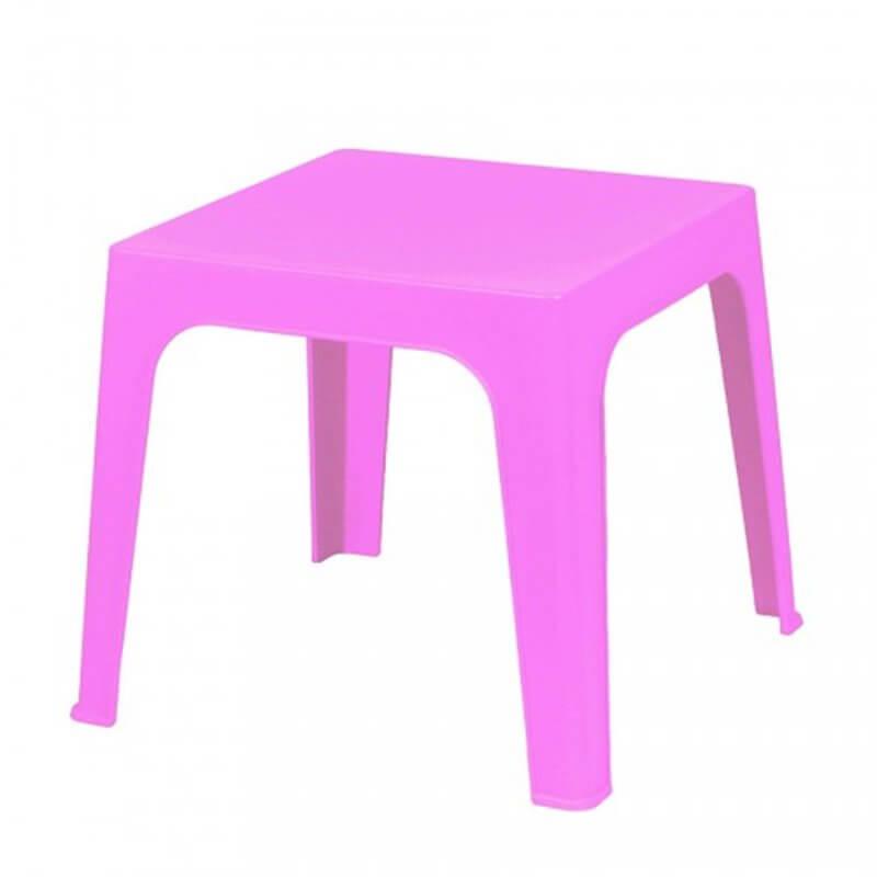 Lot de 4 tables enfant roses Juliette Resol