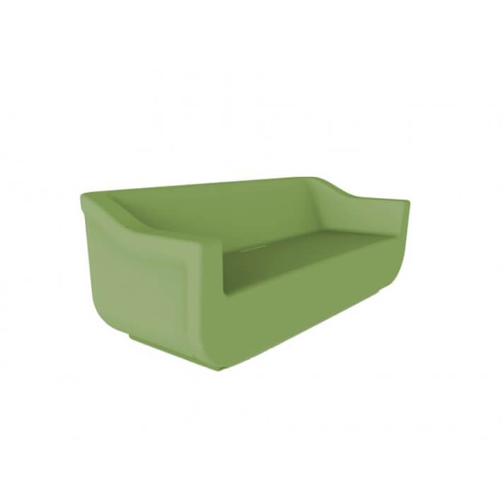 Sofá de exterior verde CLUB de Resol