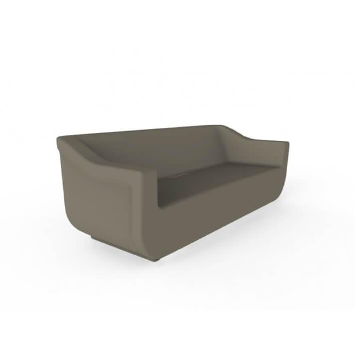 Sofá de exterior marrón CLUB de Resol