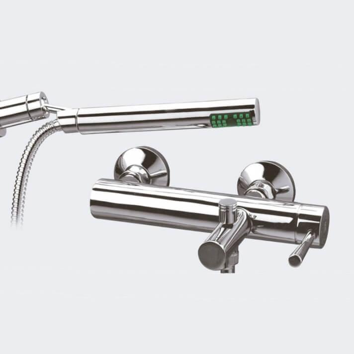 Rubinetto miscelatore per vasca da bagno con doccino Roda