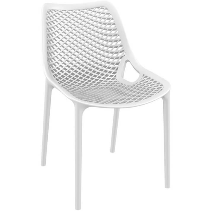 Lot 4 chaises blanches Air Resol