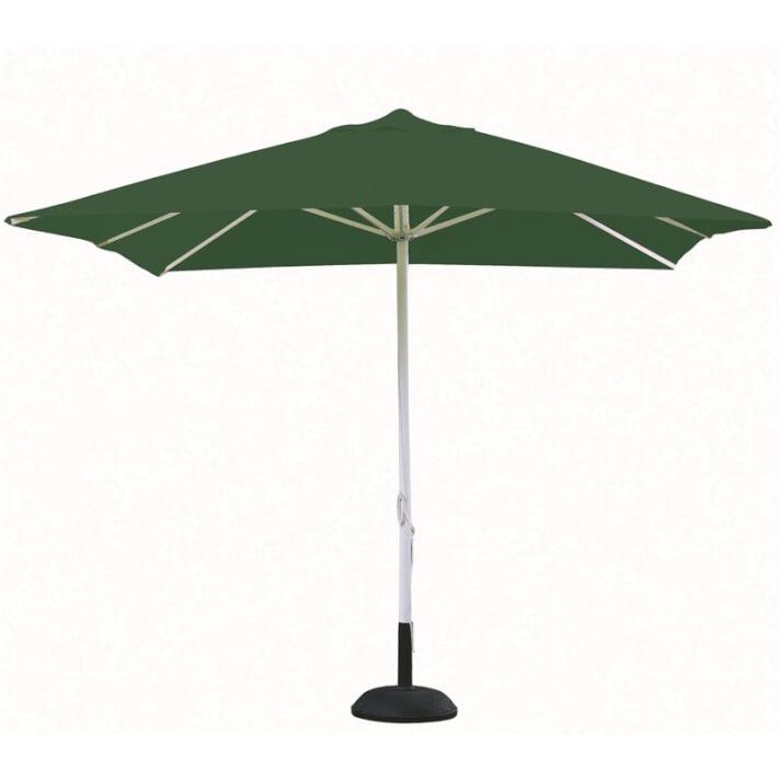 Parasol cuadrado verde oscuro A1 de Resol