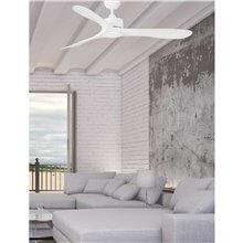 Ventilador blanco LUZON de Faro