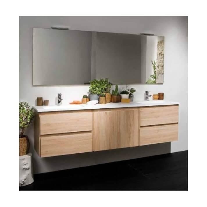Mueble Life de 150 cm sin lavabo B10