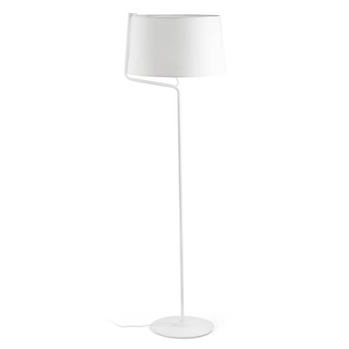 Lámpara pie blanco BERNI 20W Faro