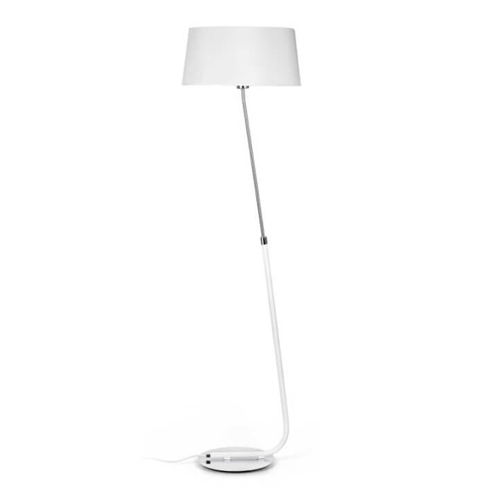Lámpara pie blanco HOTEL 20W Faro
