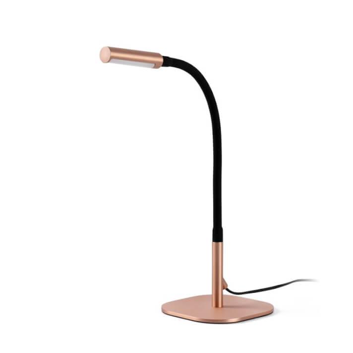 Lámpara sobremesa cobre SERP 40W Faro