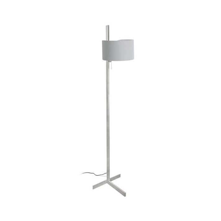 Lámpara pie aluminio y gris STAND UP 20W Faro