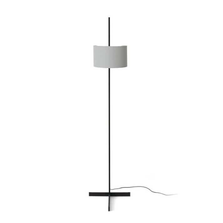 Lámpara pie gris y negro STAND UP 20W Faro