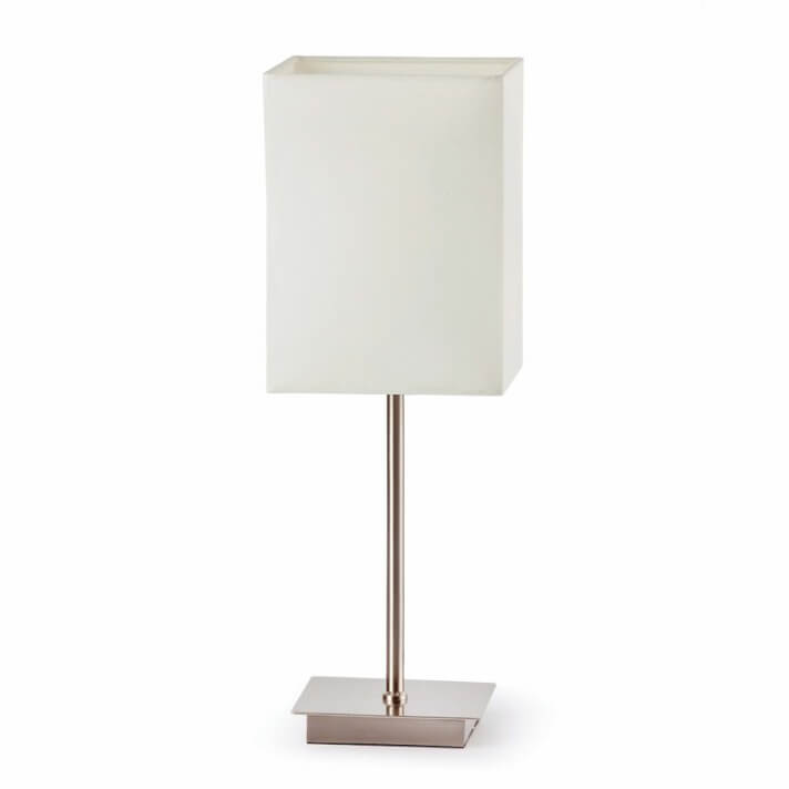 Lámpara sobremesa blanco THANA 40W Faro