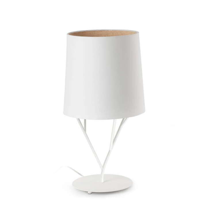 Lámpara sobremesa blanco TREE 60W Faro