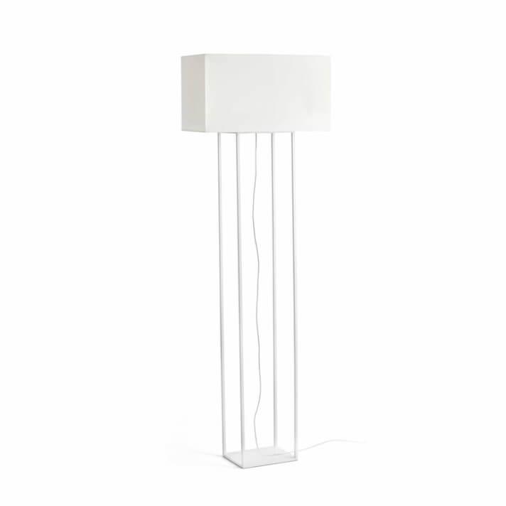 Lámpara pie blanco VESPER 20W Faro
