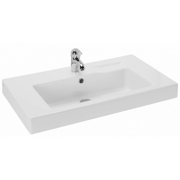 Plan vasque semi-encastré LINHA 80 Sanindusa