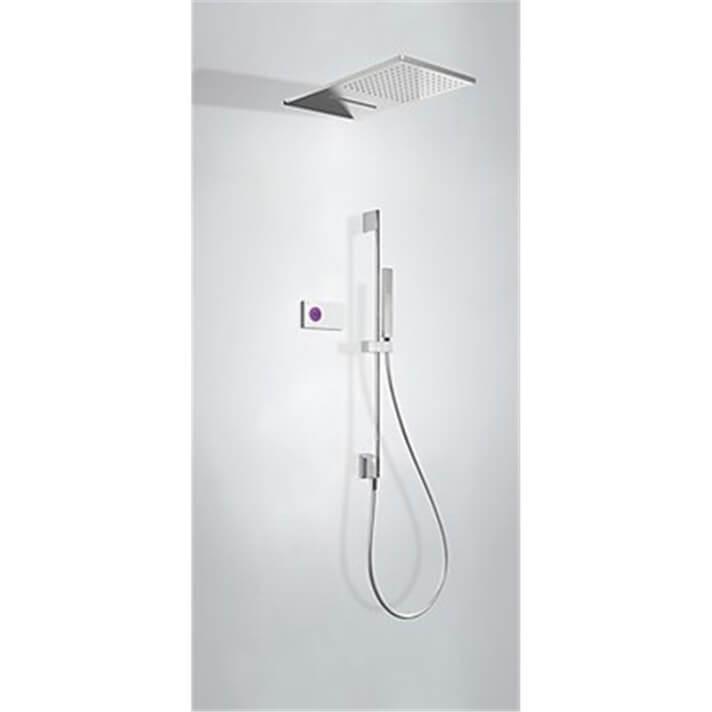 Kit de ducha termostático electrónico TRES 3 vías