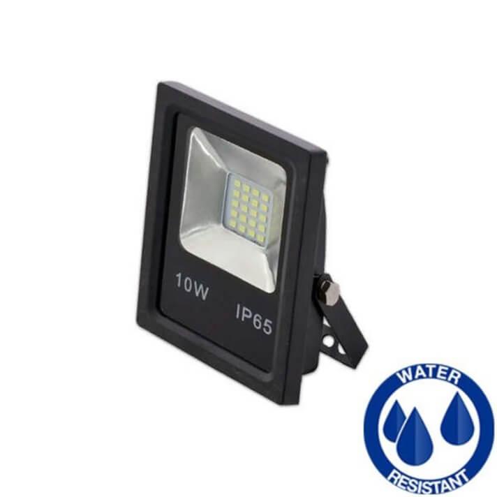 Projetor LED quadrado 10W PLANO - MasterLed