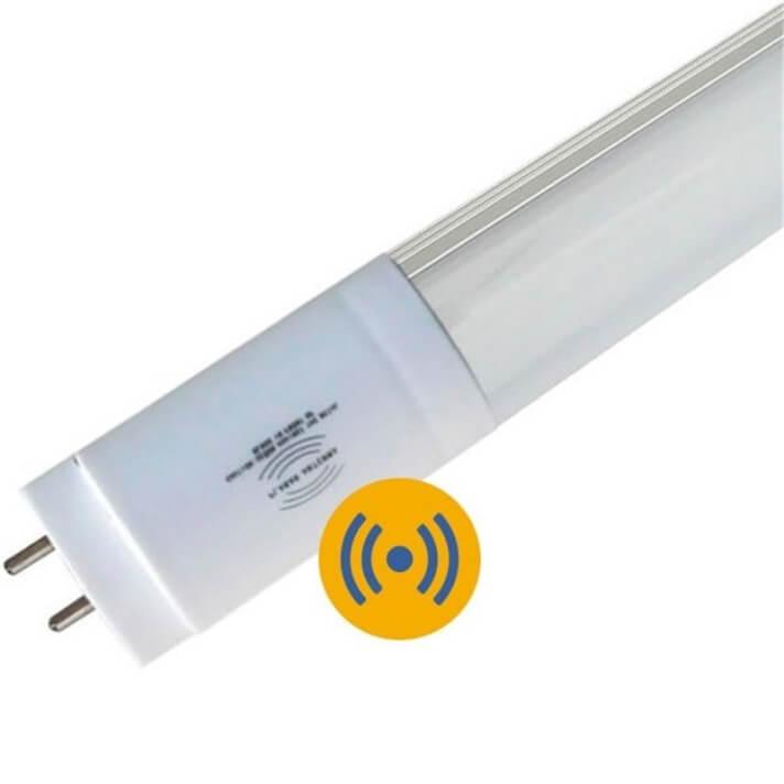 Tubo LED T8 de 18W aluminio con sensor