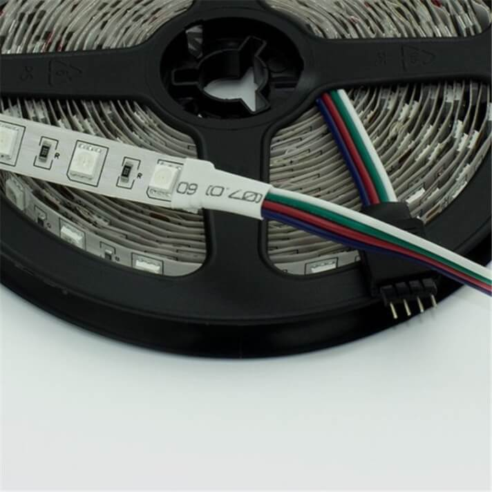 Tira LED RGB de 14,4W/m 5 metros 24V