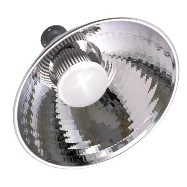 Campana reflectora con lámpara 50W