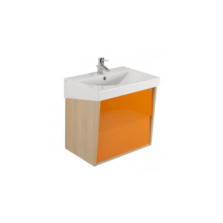 Mueble URBY 80 naranja roble Unisan