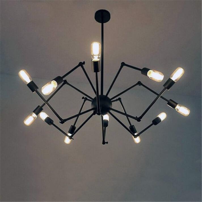 Lámpara colgante RETRO4 E27