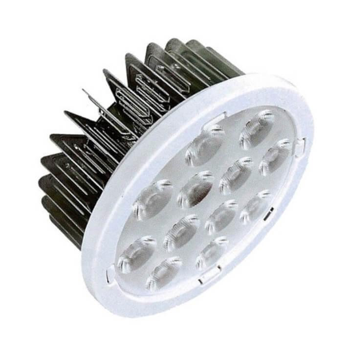 Lámpara LED AR111 de 12W