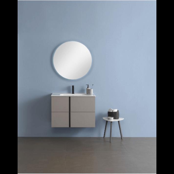 Mueble de baño con lavabo cerámico 2 cajones Onix+ Royo