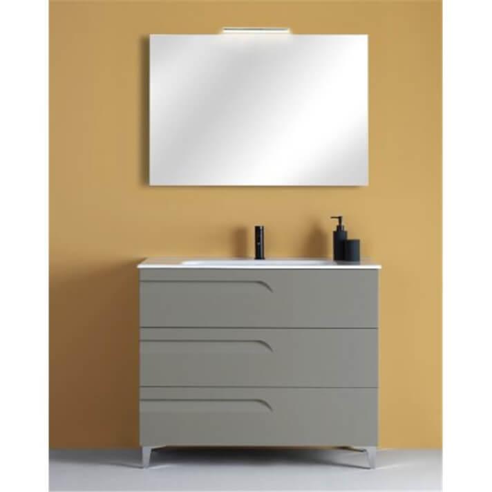 Mueble de baño 3 cajones con lavabo cerámico Vitale Royo