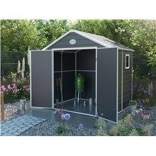 Abri de jardin résine avec fenêtre 3,57 m²...