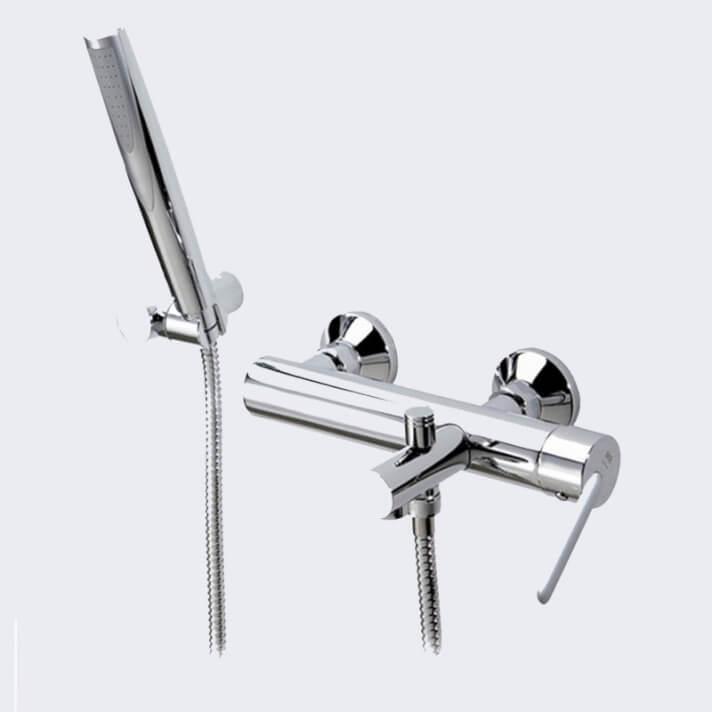 Torneira monocomando para banheira com chuveiro de mão DELTA 07 - Griferías MR