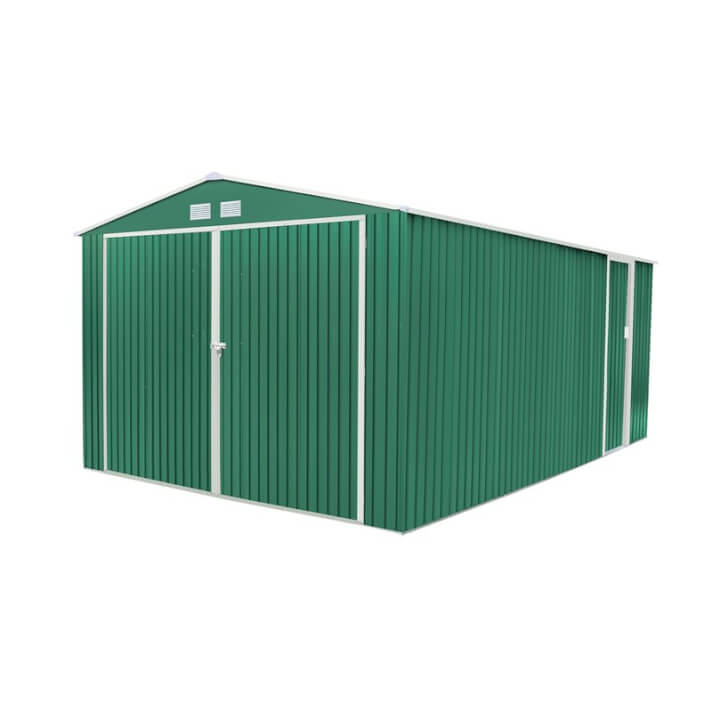 Garagem metálica 20,52m² Oxford verde - GARDIUN