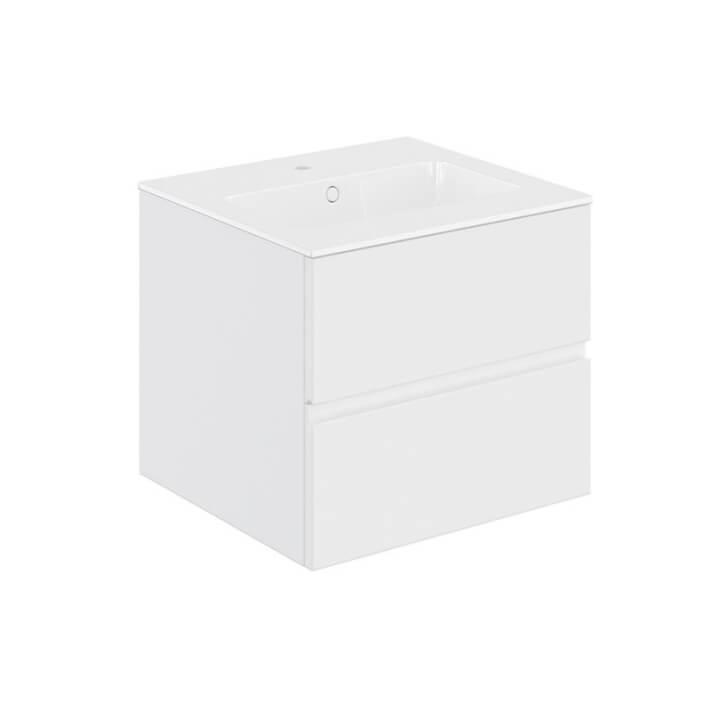 Mueble 2 cajones con lavabo 60,5cm Mood COSMIC