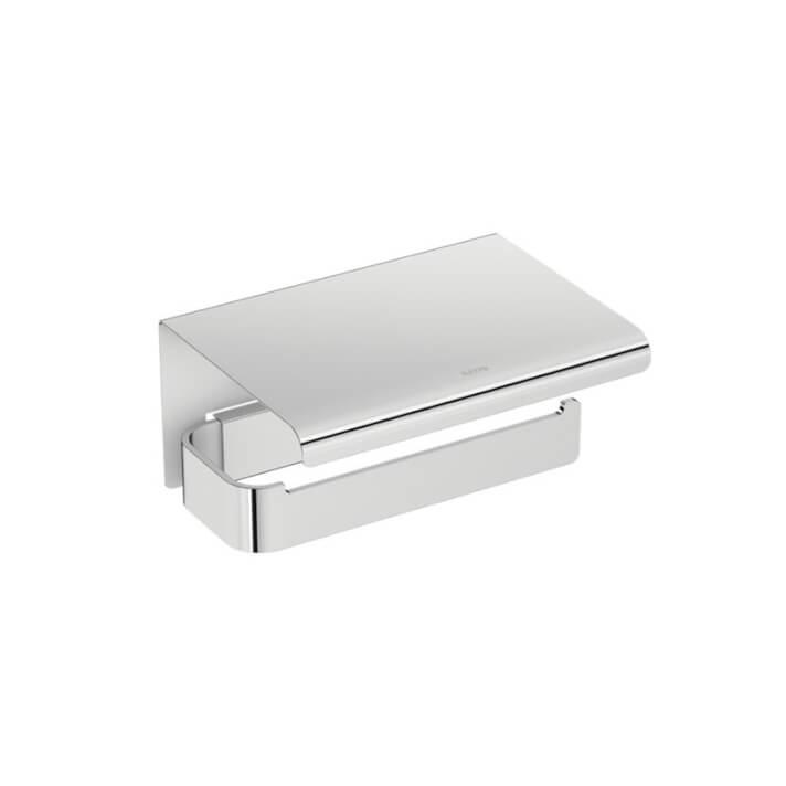 Porta carta igienica con coperchio Line BATH+