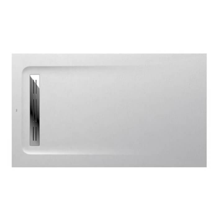 Plato de ducha 120x70cm blanco Aquos Roca