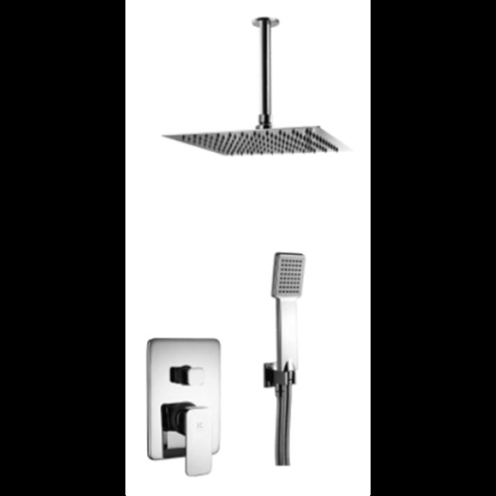 Conjunto de ducha a techo Skara Källa