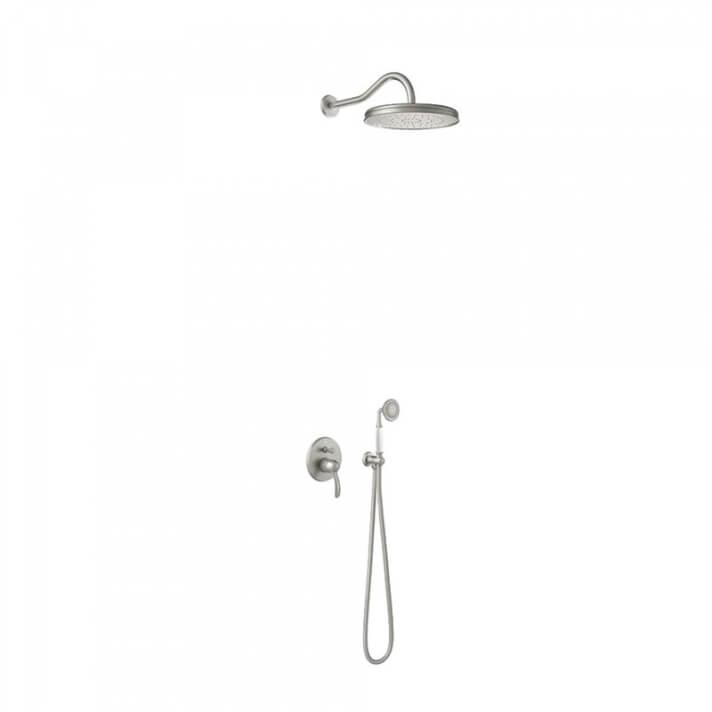Kit de ducha monomando empotrado Clasic Tres