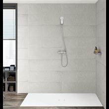 Set rubinetteria bicomando per doccia Carmen Roca