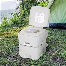 Vaso WC chimico portatile di 20 litri con...